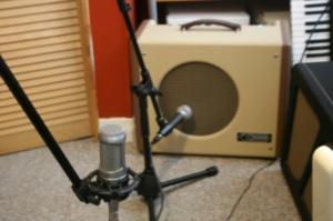 Stereo microphone setup