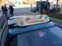 Skateboard permanently affixed to roof rack.  Good call.